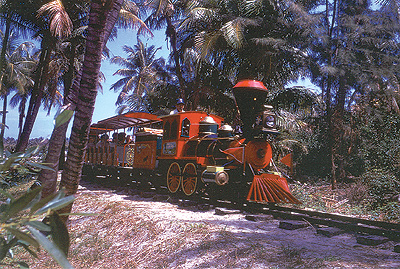 Key Biscayne                       Crandon Park Zoo Train 1960s