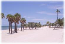 Crandon beach, Key Biscayne