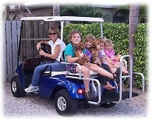 Golf cart community, Key Biscayne
