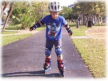 Recreation, rollerblading on Key Biscayne