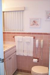 Bathroom of vacation rental accommodation